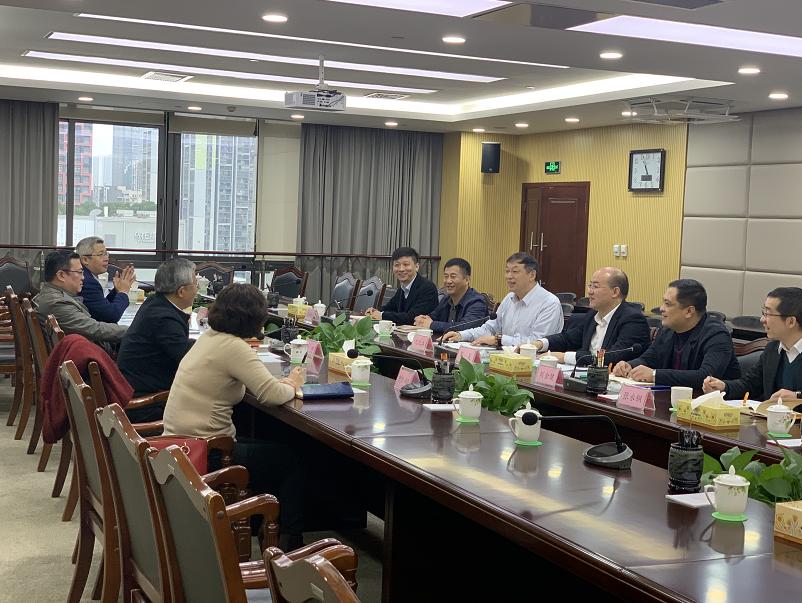 公司领导拜访柳州市政府主要领导
